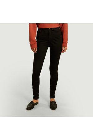 Nudie Jeans Women Slim - Hightop Tilde slim tinted jeans Everblack Jeans
