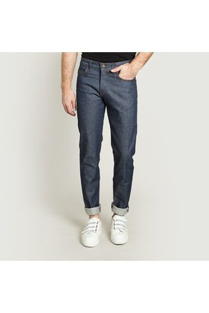 NAKED & FAMOUS Weird Guy Natural Selvedge Jeans Indigo