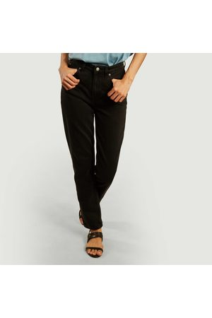 Nudie Jeans Breezy Britt regular tapered tinted jeans worn Jeans