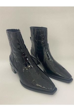 Kennel & Schmenger Patent Chelsea Boots in 41-44030-370
