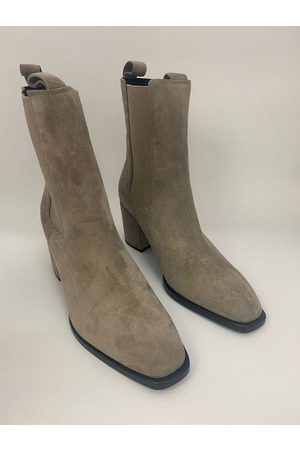 Kennel & Schmenger Women Ankle Boots - Suede ankle Erin Boots in Pebble 41-62210-359