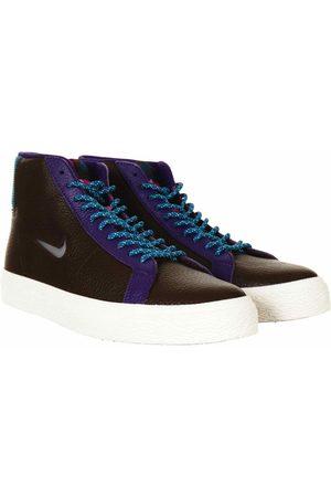 Nike SB Zoom Blazer Mid Trainers - Baroque /White Colour: Baroque