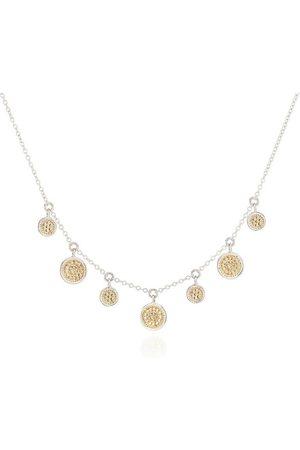 Anna Beck Mini Disc Charm Necklace