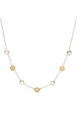 Anna Beck Hammered Station Necklace - Gold &