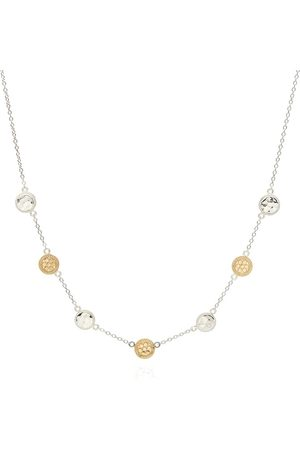 Anna Beck Women Necklaces - Hammered Station Necklace - Gold &