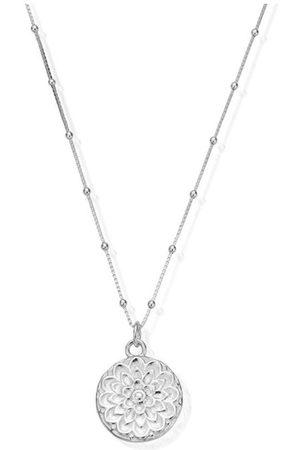 ChloBo Bobble Chain Moonflower Necklace SNBB721