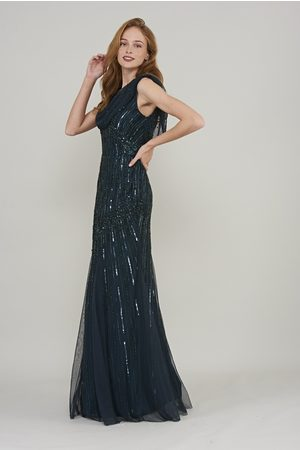 Frock and Frill Cerelia Embellished Maxi Dress
