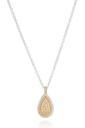 Anna Beck Dotted Drop Pendant Necklace - Reversible