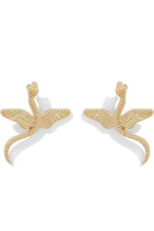 Natia X Lako Winged Snake Earrings