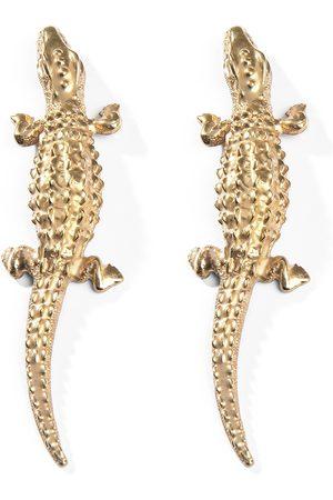 Natia X Lako Large Lizard Earrings