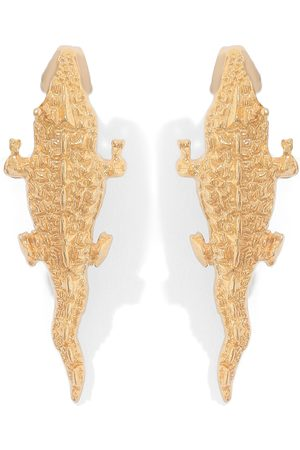 Natia X Lako Small Crocodile Earrings