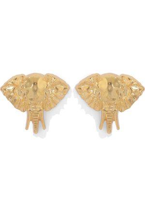 Natia X Lako Small Elephant Earrings
