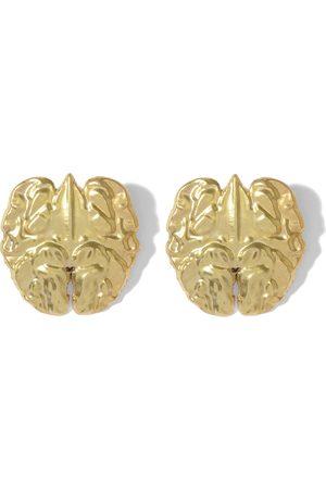 Natia X Lako Walnut Earrings