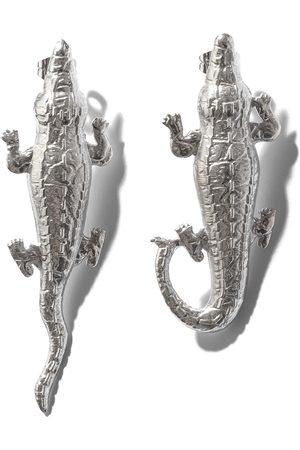 Natia X Lako Crocodile Earrings