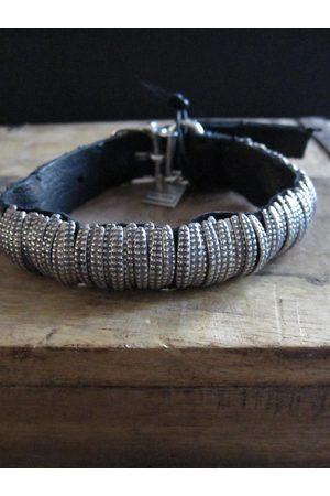 GOTI 925 and leather bracelet BR124
