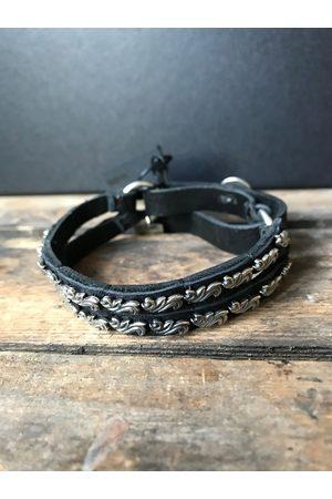 GOTI 925 Oxidised shaped bracelet BR161