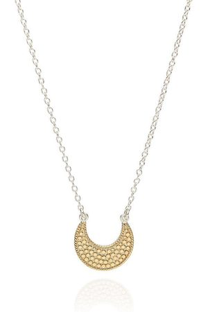 Anna Beck Small Crescent Dotted Necklace