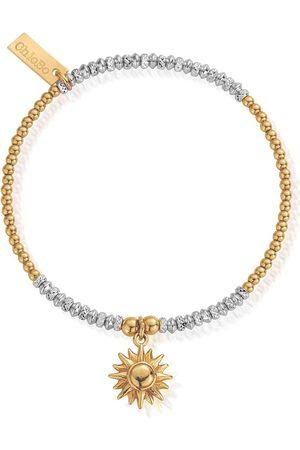 ChloBo Sparkle Sun Bracelet - Gold &