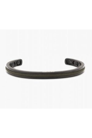 pig & hen Navarch 6mm Bracelet in Army / Black