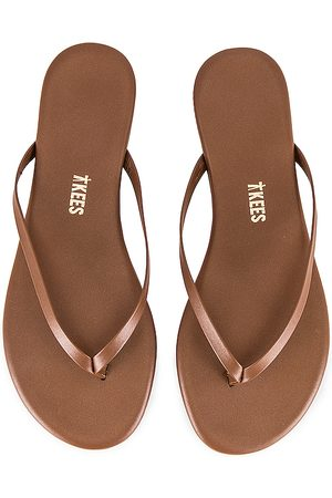Tkees Foundations Shimmer Flip Flop in . Size 7, 9.