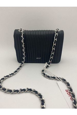 Abro+ Silver Chain Quilted Bag 028657-57