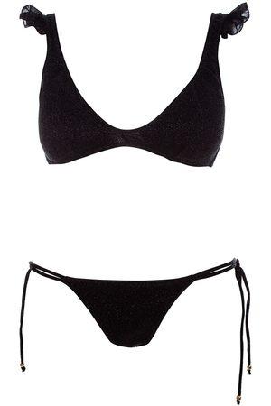 Cotazur Beachwear WOMEN'S CTZ0112BLACK SYNTHETIC FIBERS BIKINI