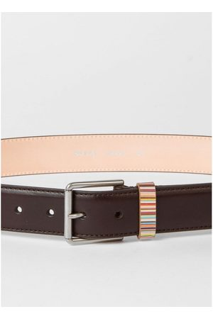 Paul Smith Keeper Stripe Detail Belt