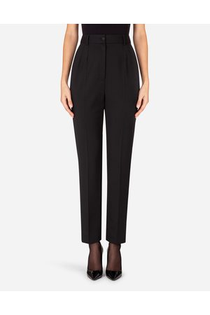 Dolce & Gabbana Collection - HIGH-WAISTED WOOLEN PANTS female 40