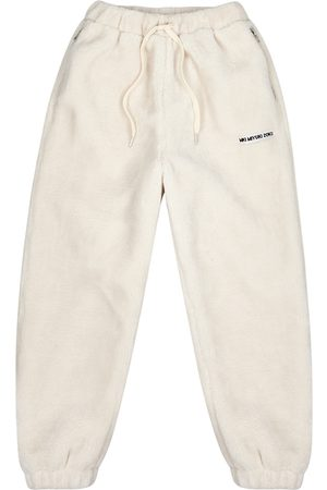 Mki Miyuki-Zoku Men Trousers - Off- Fleece Sweatpants