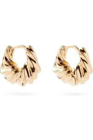 Otiumberg Twisted Mini 14kt -vermeil Hoop Earrings - Womens