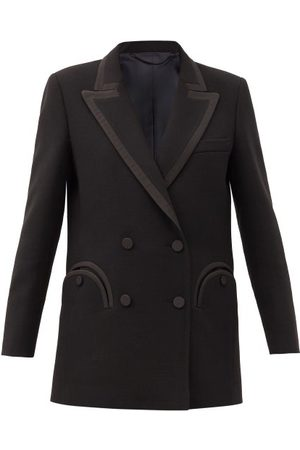 Blazé Milano Resolute Double-breasted Wool-twill Blazer - Womens