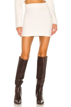 Tularosa Cozy Ivy Mini Skirt in . Size XXS, XS, S, M, XL.