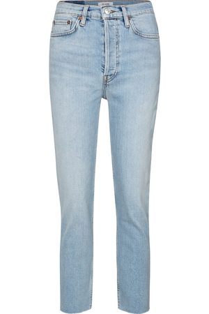 RE/DONE 90s high-rise slim jeans