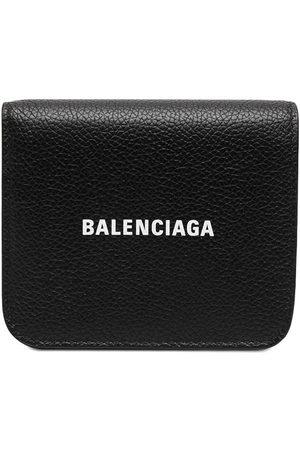 Balenciaga Logo-print wallet
