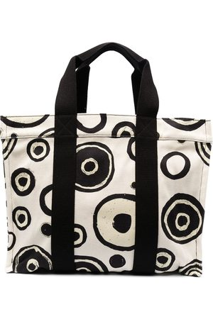 10 CORSO COMO Women Handbags - Polka-dot print tote bag - Neutrals