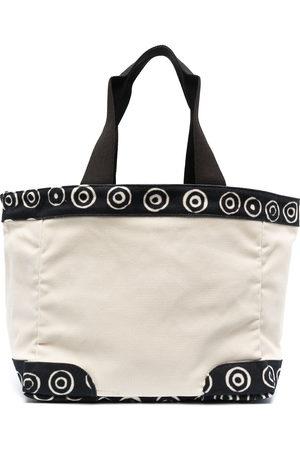 10 CORSO COMO Spiral-trimmed tote bag - Neutrals