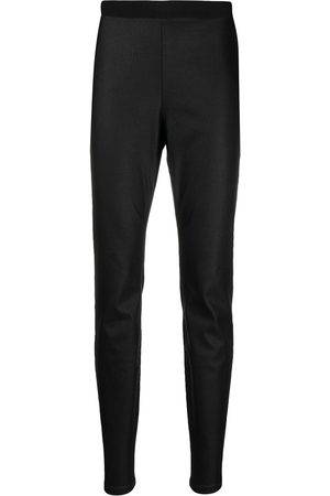 Eileen Fisher High-rise slim fit trousers