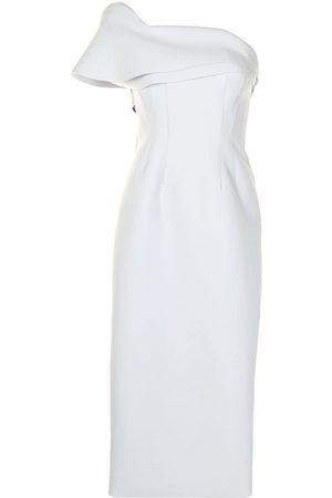 RACHEL GILBERT Drew one-shoulder gown