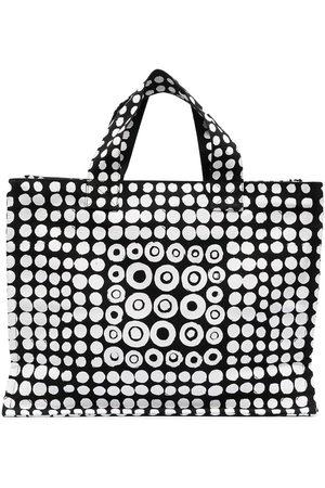 10 CORSO COMO Motif print zip tote bag