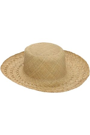 Saint Laurent Honolulu Panama Straw Hat