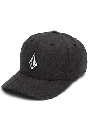 Volcom Men Beanies - Men's Full Stone Heather Xfit Cap - Charcoal Heather
