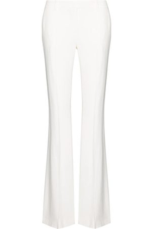 Alexander McQueen Mid-rise flared trousers