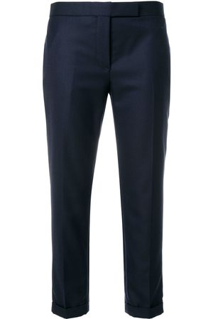 Thom Browne 120s cropped tailored trousers