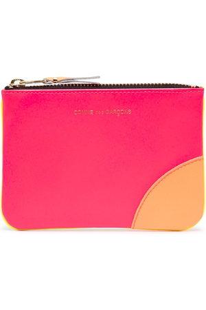 Comme des Garçons Purses & Wallets - Colour-block zipped wallet