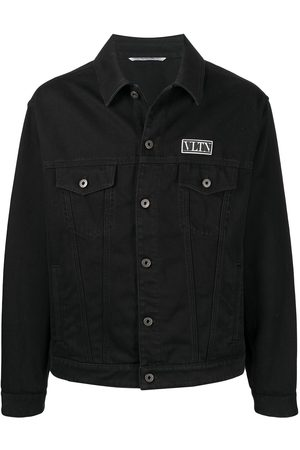 VALENTINO VLTN appliqué denim jacket