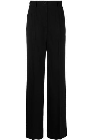 Dolce & Gabbana High-waisted wide-leg trousers - N0000