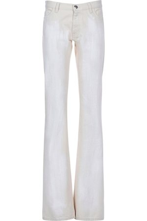 Marni Cotton Denim Wide Leg Pants