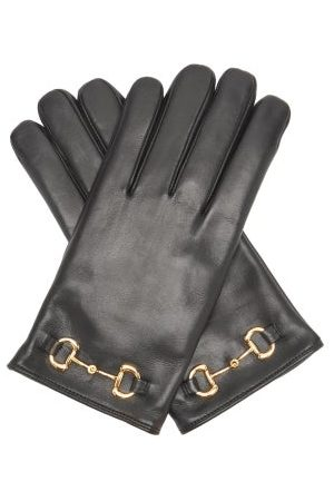 Gucci Horsebit Leather Gloves - Mens