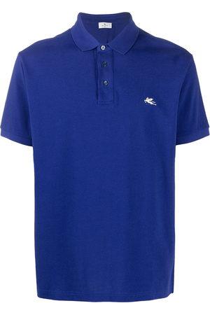 Etro Men Polo Shirts - Logo embroidered polo shirt
