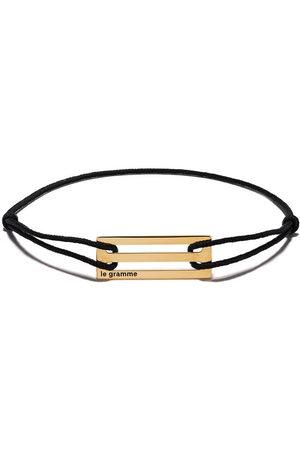 Le Gramme 18kt yellow gold cord bracelet
